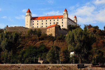 The four-tower castle Bratislava