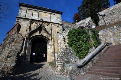 Teile der Burgmauer