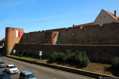 The old city wall