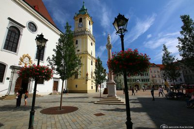 View of the Old Town Hall