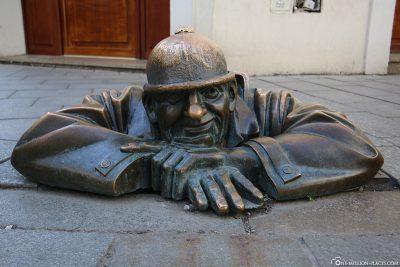 Der Kanalgucker Čumil