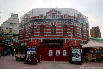 The Ximen Honglou Theatre in Taipei