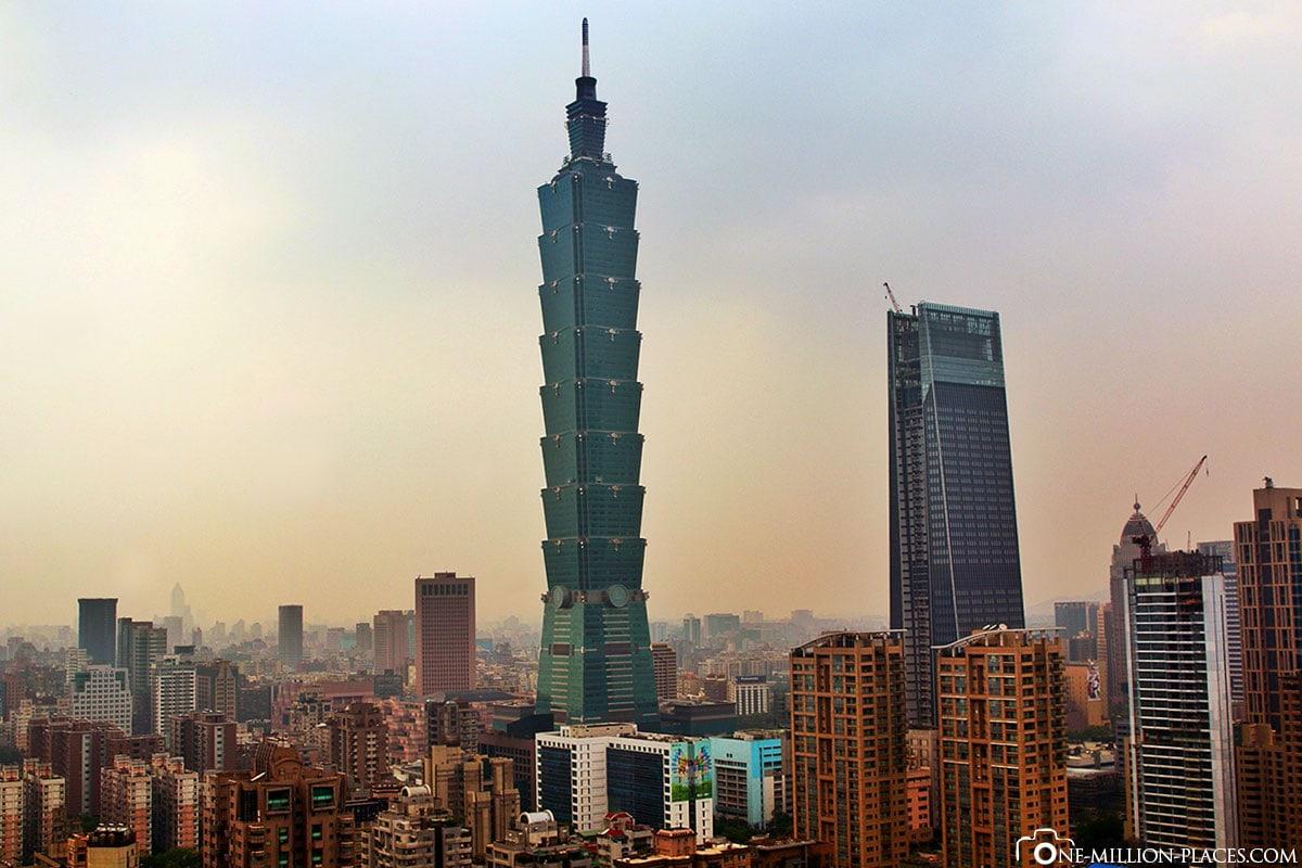 Taipei 101, Taiwan, On Your Own, Travelreport