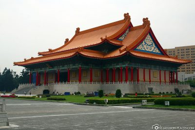 Die Nationale Konzerthalle von Taipeh
