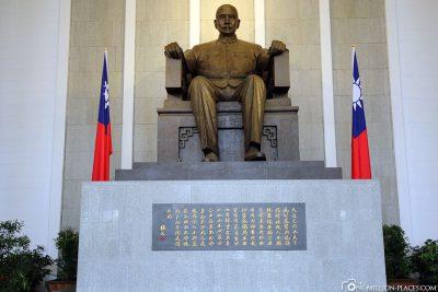 Statue von Sun Yat-sen