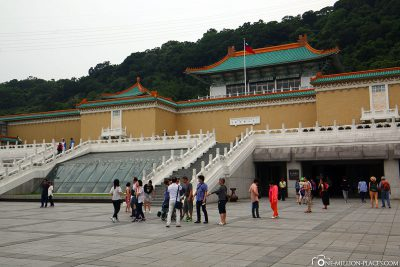 The National Palace Museum in Taipei