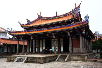 The Temple of Confucius in Taipei