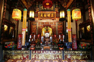 The Dalongdong Baoan Temple
