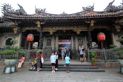 The Longshan Temple in Taipei