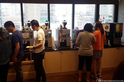 Breakfast at M Hotel Taipei