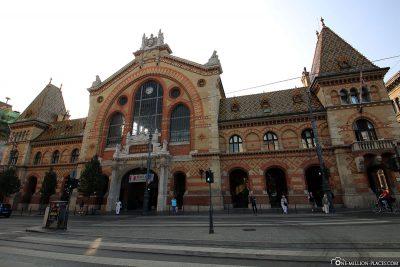 Die Markthalle in Budapest