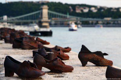 Schuhe am Donauufer (Mahnmal)