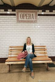 U-Bahn Station der Linie M1 in Budapest