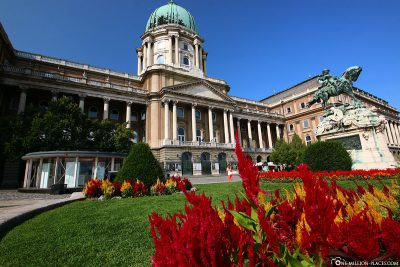 Der Burgpalast in Budapest
