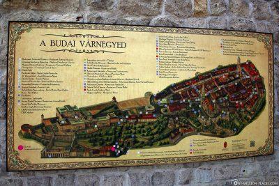 Karte vom Burgviertel