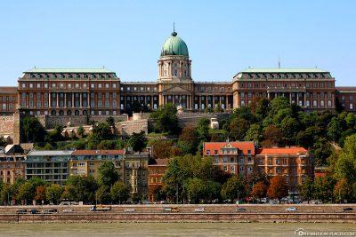 Der Burgpalast auf dem Burgberg