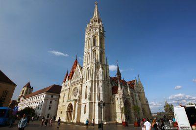Die Matthiaskirche in Budapest