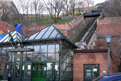 Die Standseilbahn Budavári Sikló