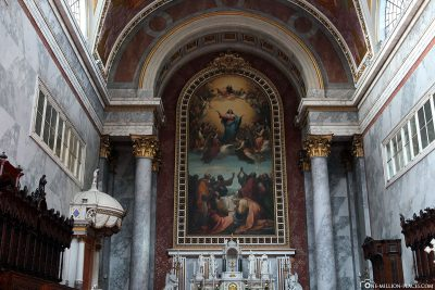 "The altarpiece ""Assumption of Mary in Heaven"""