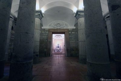 The crypt of the Cathedral of Esztergom