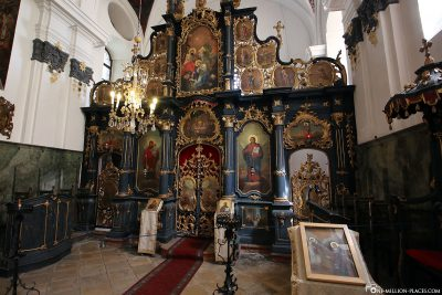 The Serbian Orthodox Church of Blagovestenska