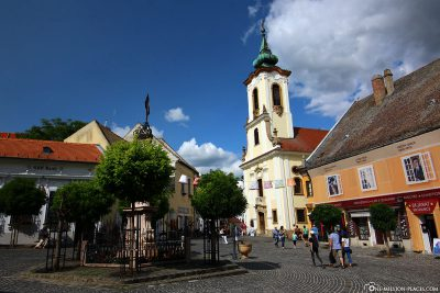 The marketplace in Szentendre