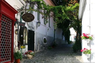 The artist village of Szentendre