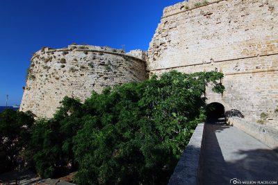 The entrance to Kyrenia Fortress