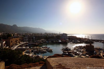 View to the port of Kyrenia