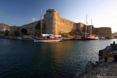 The fortress of Kyrenia