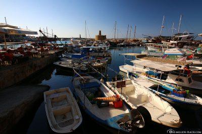 The port of Kyrenia