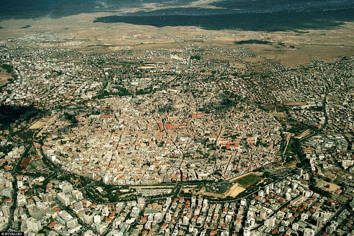 Nicosia, Aerial View, Travelreport