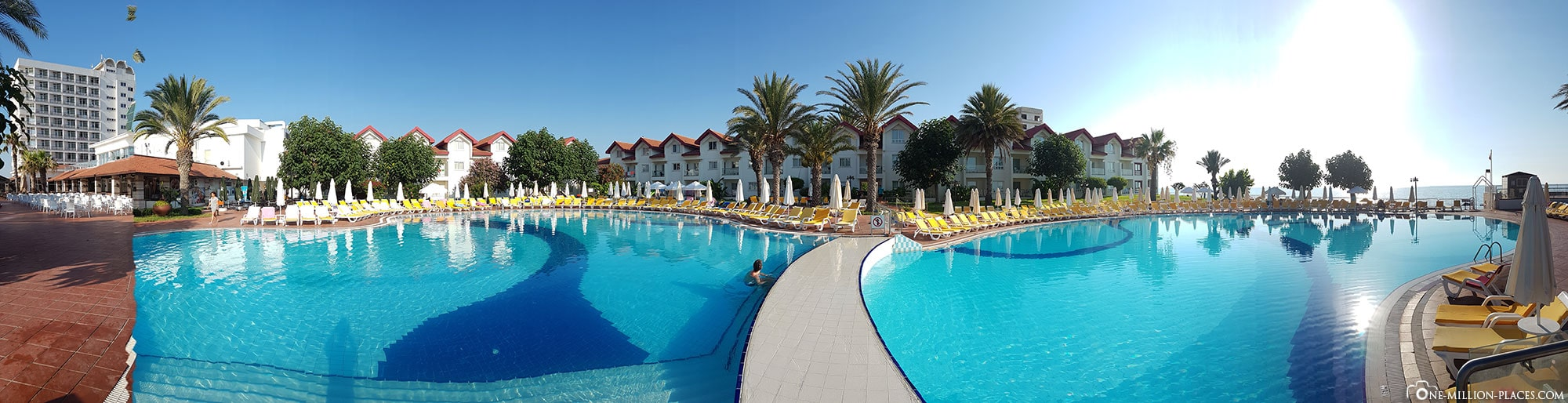 Pool, Salamis Bay Conti Resort, Famagusta, Cyprus, Northern Cyprus, Experiences, Travel Report