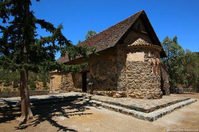 Die Scheunendachkirche Panagia tis Asinou