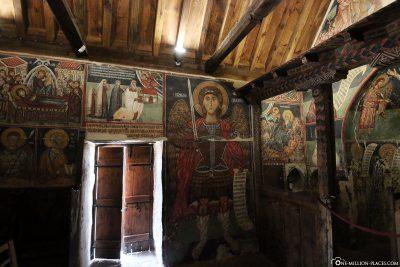 Die Scheunendachkirche Panagia tou Moutoulla