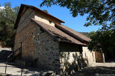 Die Scheunendachkirche Agios Ioannis Lampadistis