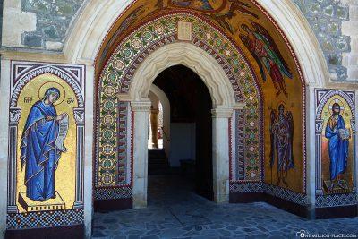 Der Eingang zum Kloster Kykkos