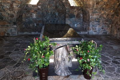 Grabstätte Erzbischof Makarios III
