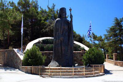 Statue Erzbischof Makarios III