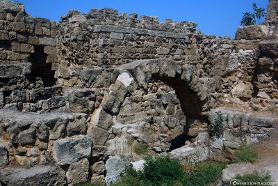 The Salamis Archaeological Site