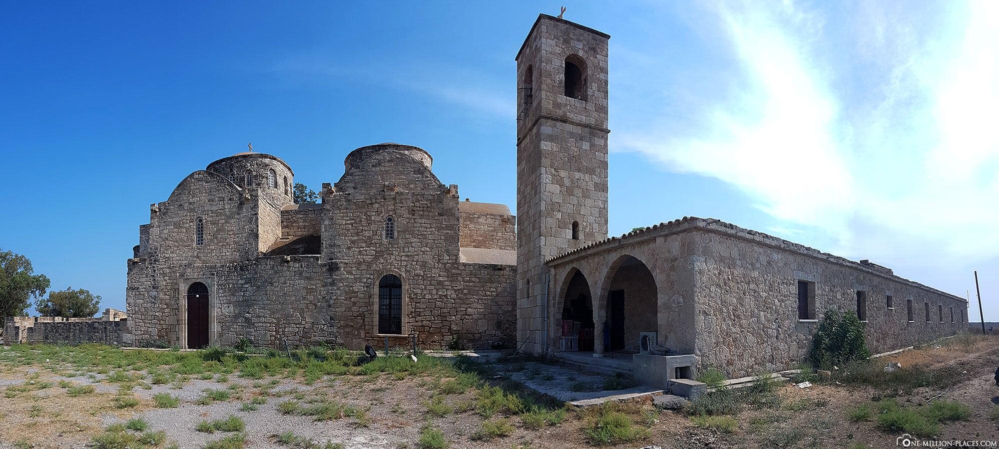 Panoramic view of St. Barnabas Monastery, Cyprus, East Coast, Sights, On Your Own, Travelreport