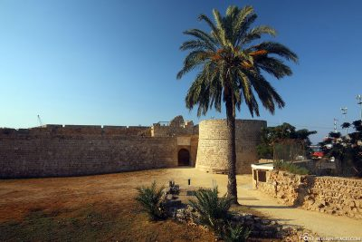 The fortress wall of Famagusta