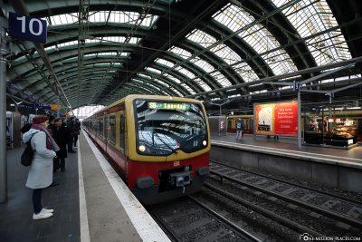 By S-Bahn to Messe Berlin