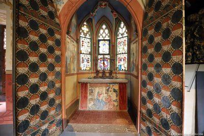 Gothic chapel nercker