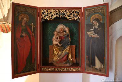 Triptycho Altar