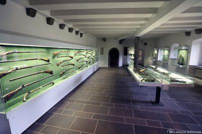 Die Schusswaffensammlung