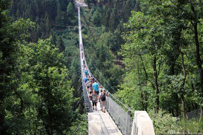 Der Eingang zur Brücke (Mörsdorf Seite)