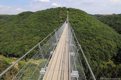 The Suspension Rope Bridge Geierlay
