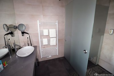 The beautiful bathroom
