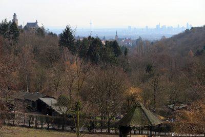 View to Frankfurt